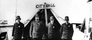 Vancouver police circa 1880s