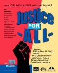 Justice for all logo