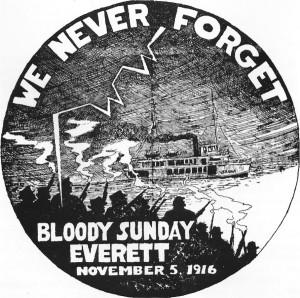 Poster - Everett Massacre