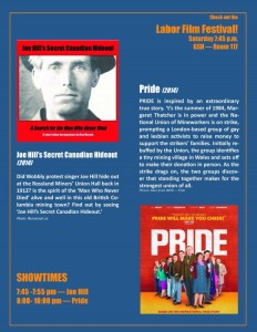 Joe Hill & Pride movie night