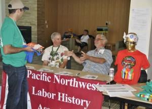 PNLHA table 2 - AFL-CIO summer school - August 7-9, 2015