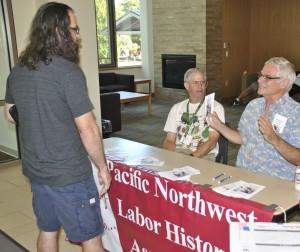 PNLHA table - AFL-CIO summer school - August 7-9, 2015