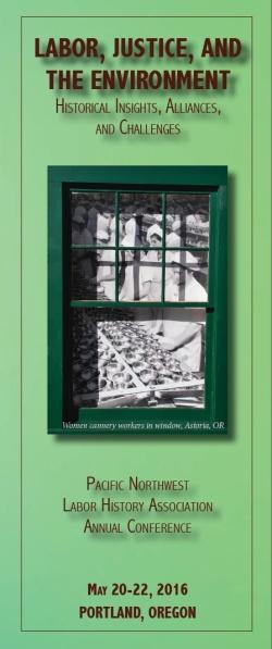PNLHA 2016 brochure cover panel