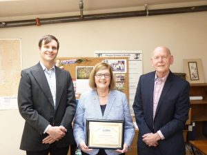 Sen Rosenbaum award presentation - June 3, 2016