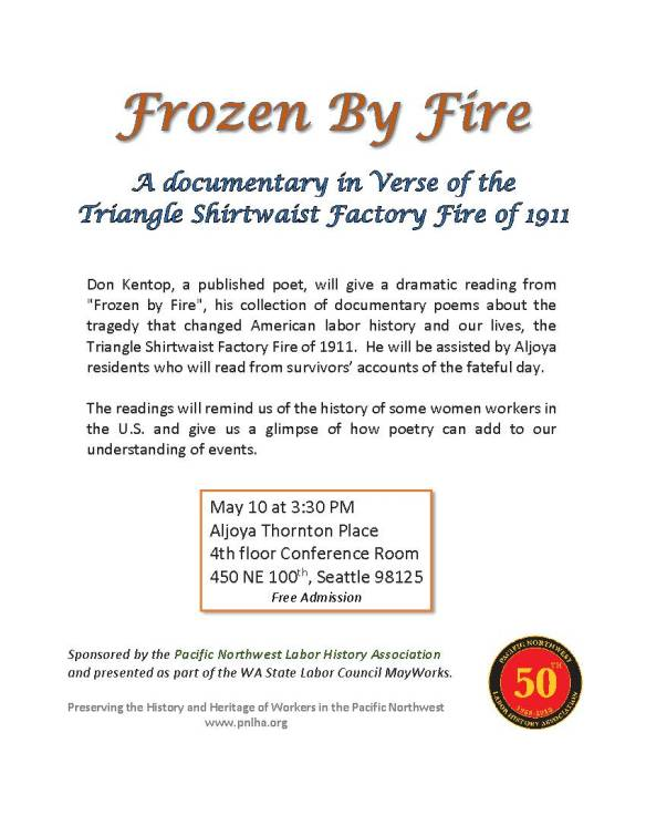 Frozen By Fire - 50 logo