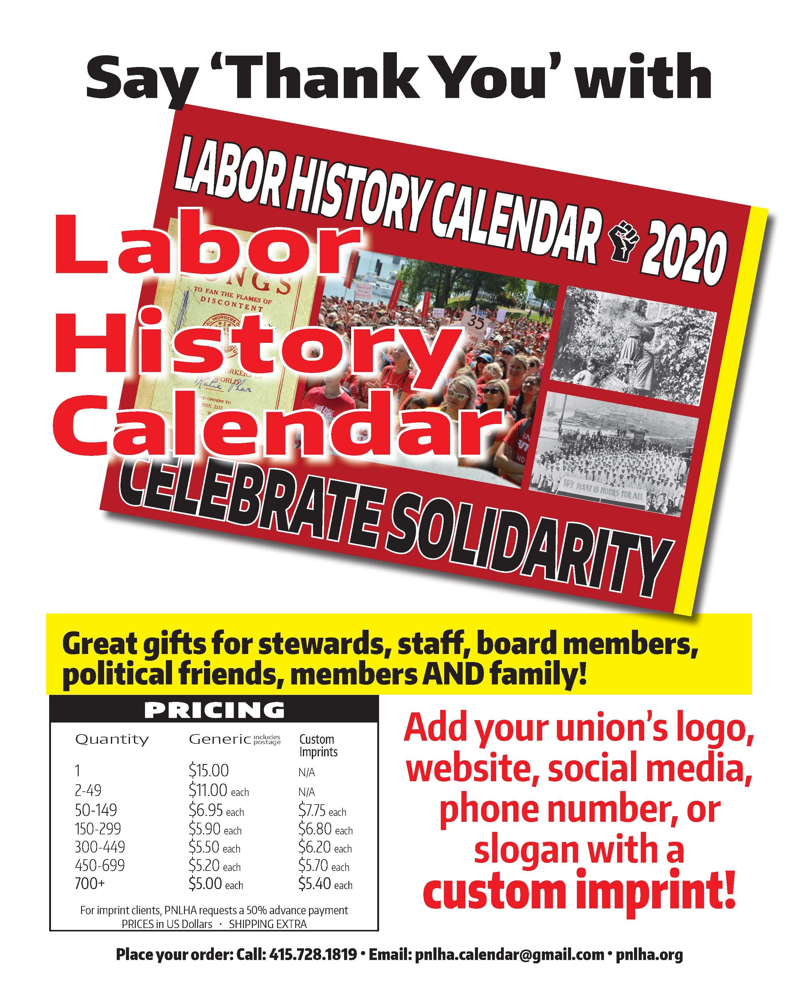 2020 Labor Calendar FLYER_FINAL